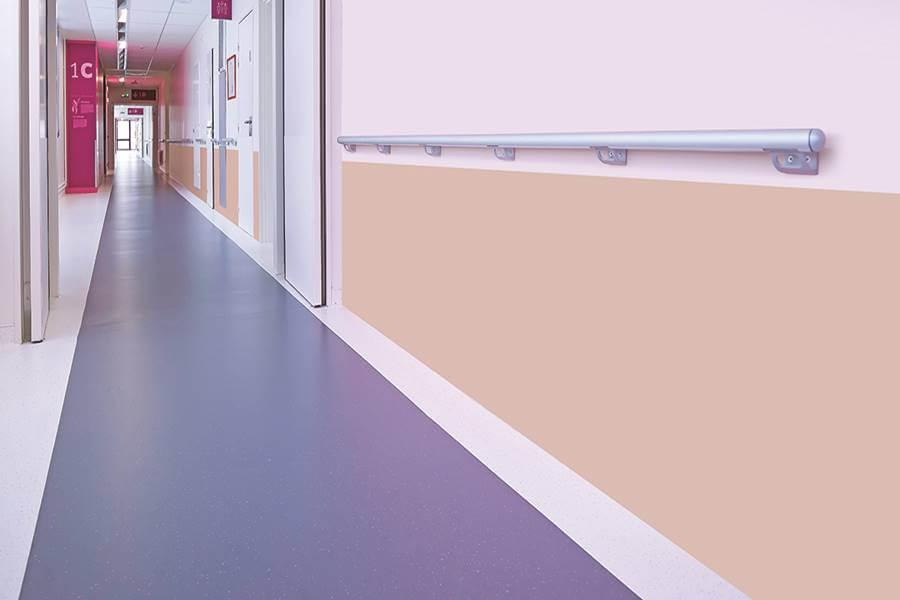 Vinyl dinding rumah sakit anti bakteri