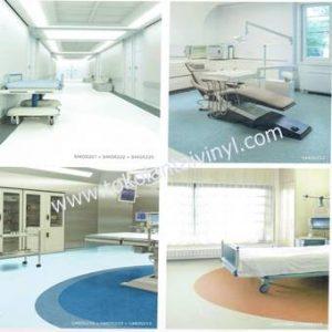 Lantai Vinyl Rumah Sakit Anti Bakteri
